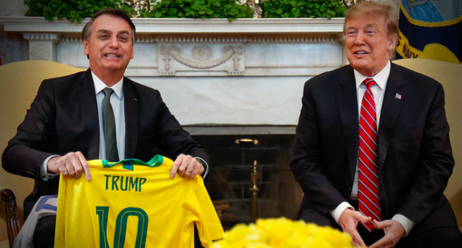 Bolsonaro substituir Trump líder mundial da extrema-direita