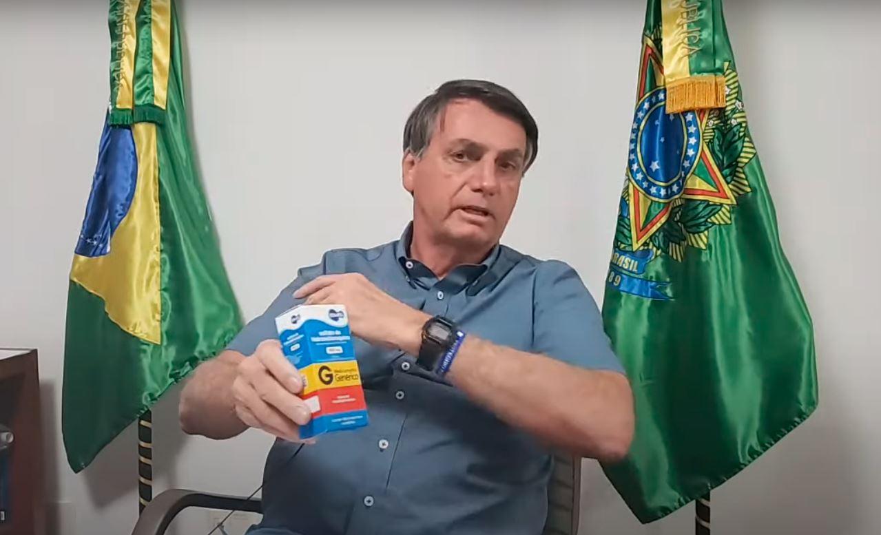 bolsonaro receita cloroquina