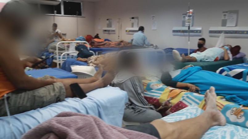 colapso hospitais manaus pacientes fogem