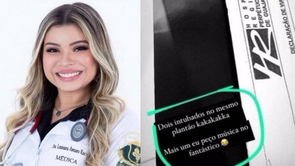 médica Leanara Amaro Rocha
