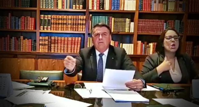Bolsonaro manda Polícia Federal investigar seguidor que fez comentário inconveniente