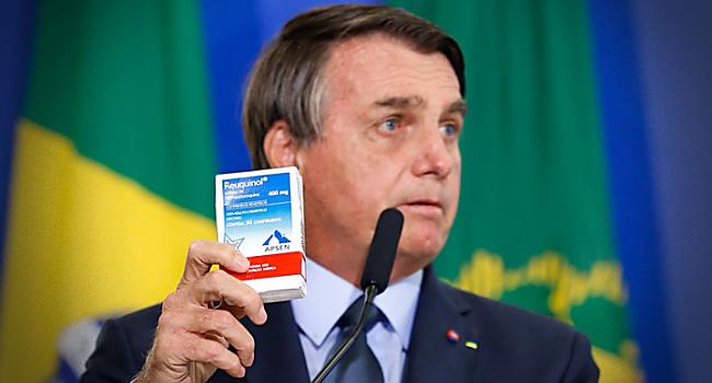 Bolsonaro milhões recursos Fiocruz cloroquina covid tratamento precoce