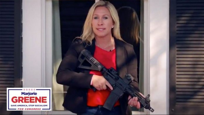 deputada extremista EUA