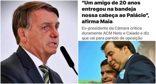 dilema de Rodrigo Maia direita encurralada por Bolsonaro