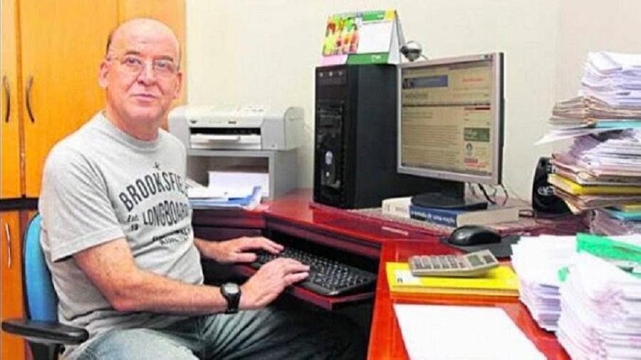 O jornalista Daniel José de Lima