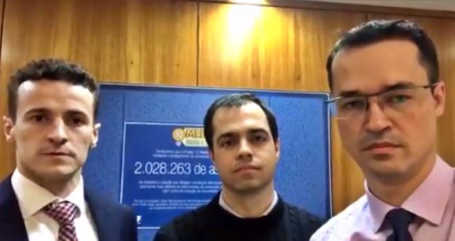 lula conversas Dallagnol procuradores Lava Jato monitorava grampos