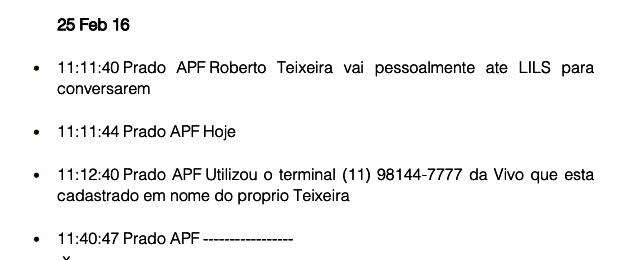 Lula conversas mostram Lava Jato monitorava grampos