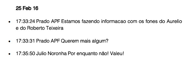 Lula conversas mostram Lava Jato monitorava grampos dilma