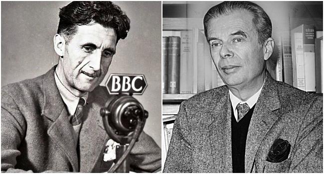 Orwell moda espírito nosso tempo Huxley