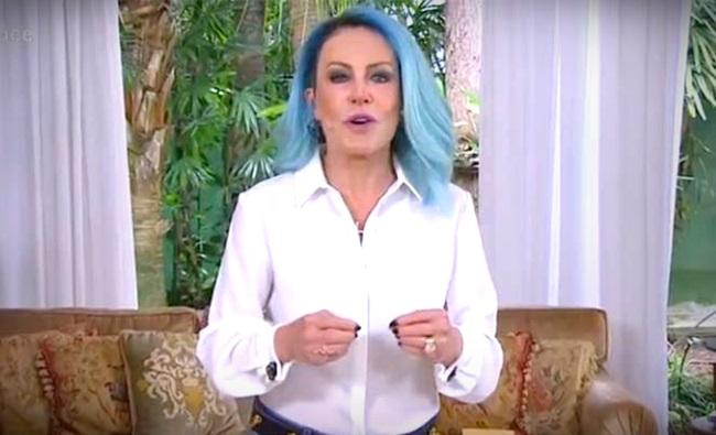 ousar mais Ana Maria Braga cabelos coloridos globo