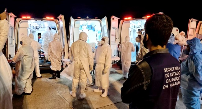 Paraíba confirma variante mais contagiosa do coronavírus circulação
