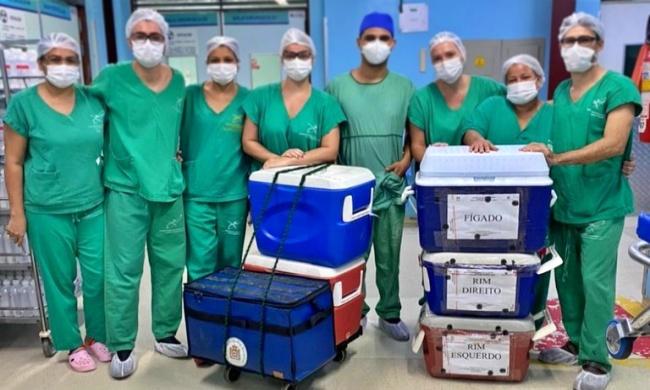 Paraíba triplica transplantes de órgãos janeiro saúde