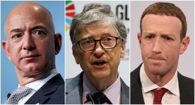 Pesquisa mostra elite bilionária tecnológica comunica redes sociais