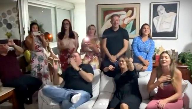 Reunião pró-Lira tem canto evangélico uísque e vinho