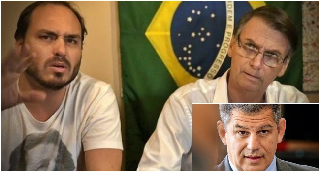 vídeo inédito Bebianno Bolsonaro pediu processasse Carlos