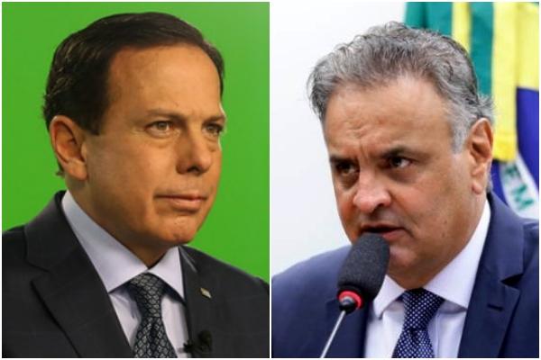Aécio critica Doria não descarta apoiar Ciro Gomes eleições 2022