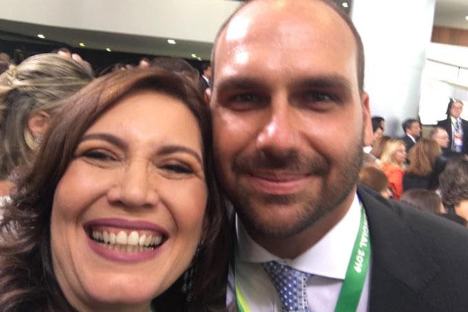 Bia Kicis Eduardo Bolsonaro