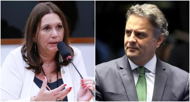Bia Kicis presidirá CCJ e Aécio Neves Comissão de Relações Exteriores