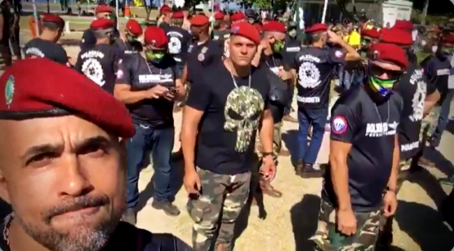 Bolsonaristas ameaças vídeo não Exército