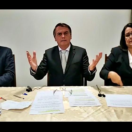 Bolsonaro aciona Justiça para derrubar medidas restritivas covid-19