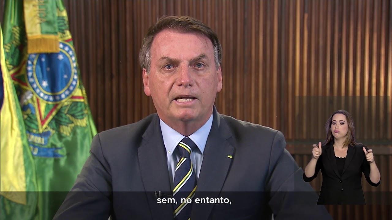 bolsonaro pronunciamento tv