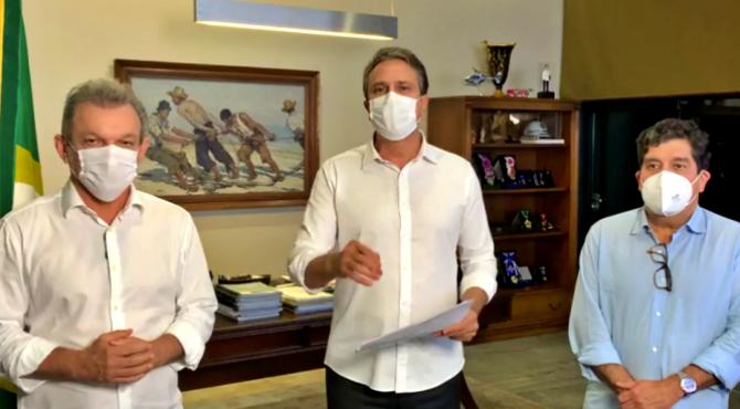 Camilo Santana decreta lockdown Fortaleza conter pandemia