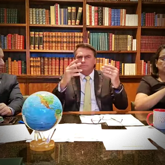chefe supremo Forças Armadas Bolsonaro tom ameaça lula