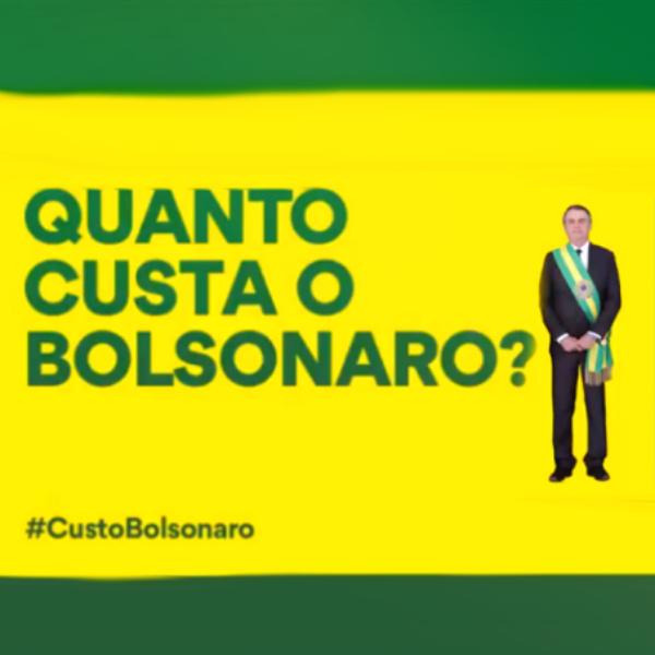 Custo Bolsonaro Vídeo viralizou compartilhado correntes oposição