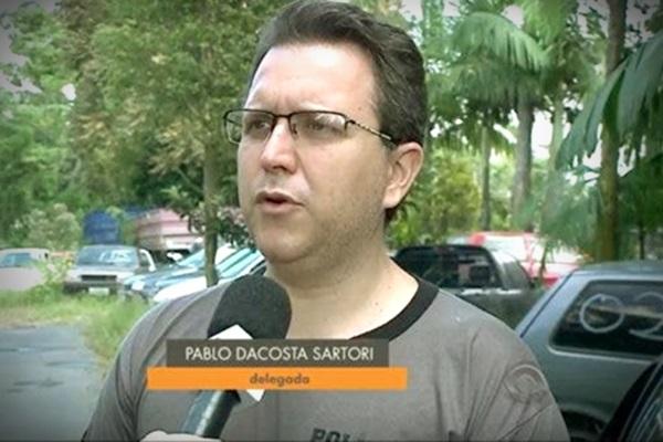 Delegado Pablo Dacosta Sartori tem histórico favoráveis clã Bolsonaro