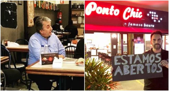 Dono restaurante ponto chic desrespeitou restrições morre de Covid-19