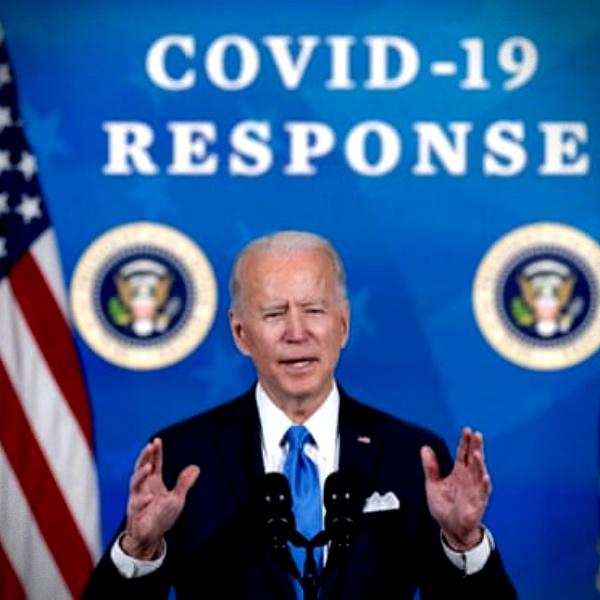 EUA aprova pacote econômico Biden trilhão pandemia covid