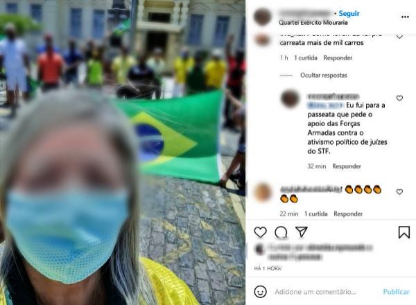 Fotojornalista agredida bolsonaristas Vagabunda comunista salvador