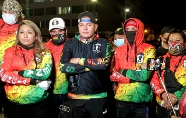 gangue boliviana habita sonhos Bolsonaro milícia
