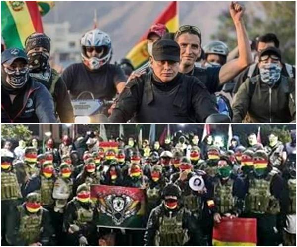 gangue boliviana habita sonhos Bolsonaro