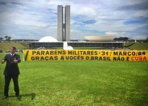 Governo Bolsonaro ganha Justiça direito de celebrar golpe de 1964