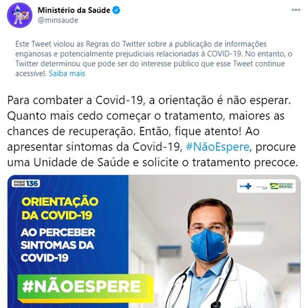 Governo Bolsonaro paga influenciadores defender atendimento precoce