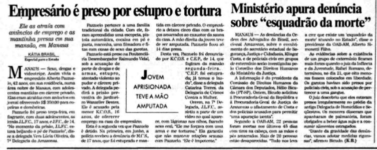 Irmão de Pazuello preso por estuprar torturar adolescentes