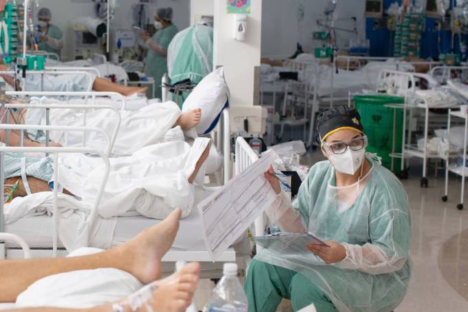 kit covid hospitais