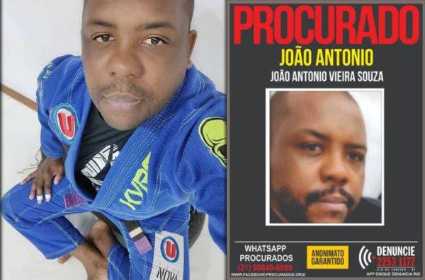 O lutador de jiu-jitsu João Antonio Vieira de Souza