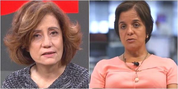 Miriam Leitão e Vera Magalhães