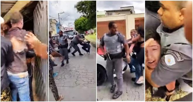 PMs forjaram agressões prisão de Salvador da Rima Machuca mão negão