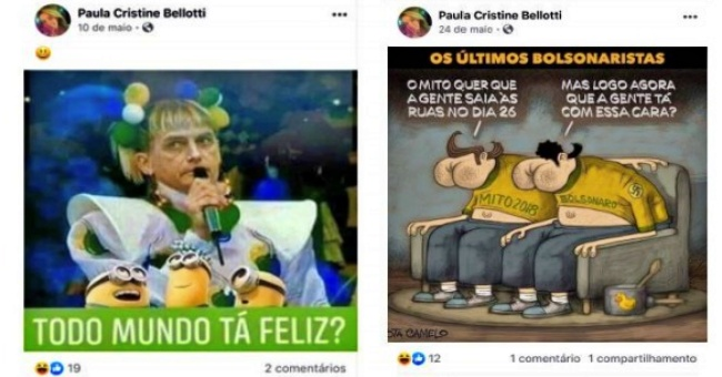 Procuradora Paula Cristine Bellotti bolsonaro charge de Bolsonaro punição Nunes Marques