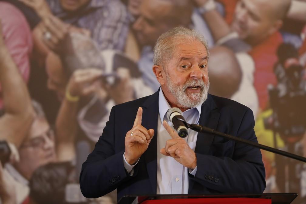Lula pronunciamento