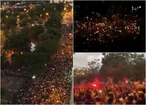 paraguai protesto covid