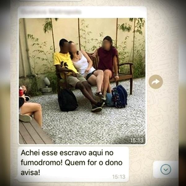 Universitário chamou colega escravo condenado racismo injúria