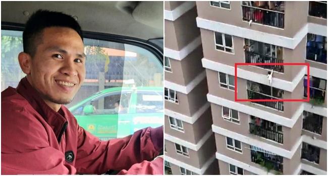 VÍDEO Criança 3 anos cai do 12º andar salva por entregador