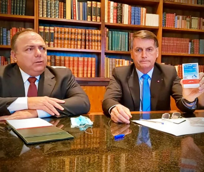 apoio Bolsonaro farmácias venderam milhões kit covid