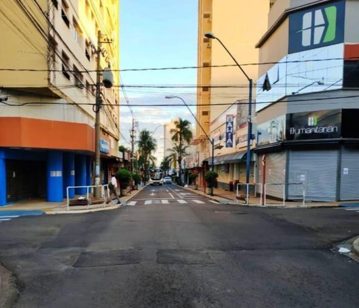 Araraquara Bauru consequências lockdown libera geral pandemia covid são paulo