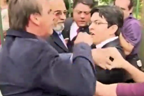 Bolsonaro agrediu Randolfe fisicamente relembre