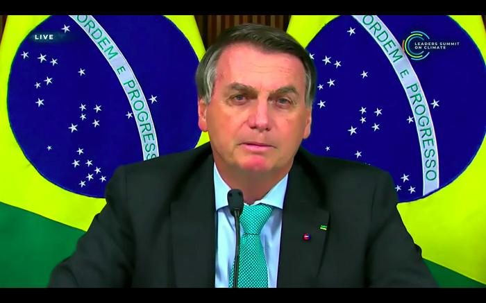 bolsonaro discurso cúpula do clima